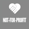 not-for-profit button
