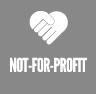 not-for-profit button