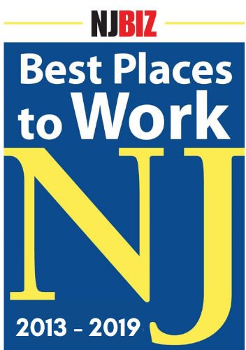 Best places to work New Jersey logo