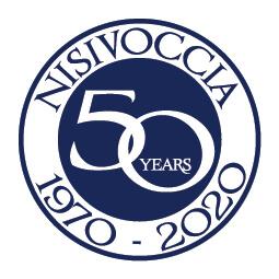 Nisivoccia 50th Anniversary Logo